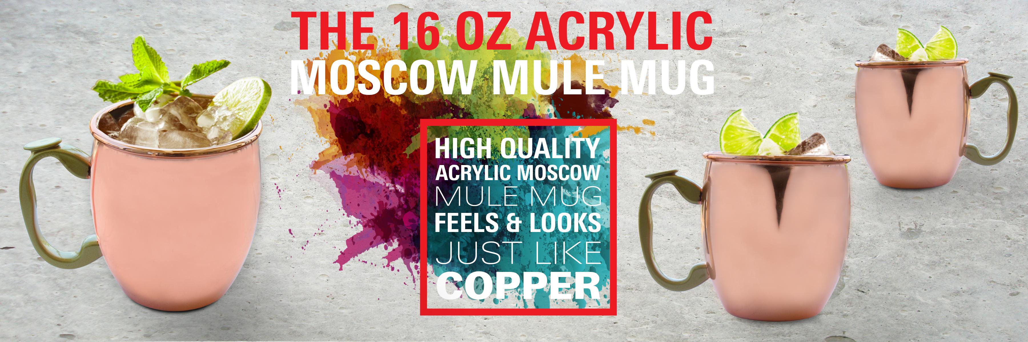 Plastic 16oz Classic Moscow Mule