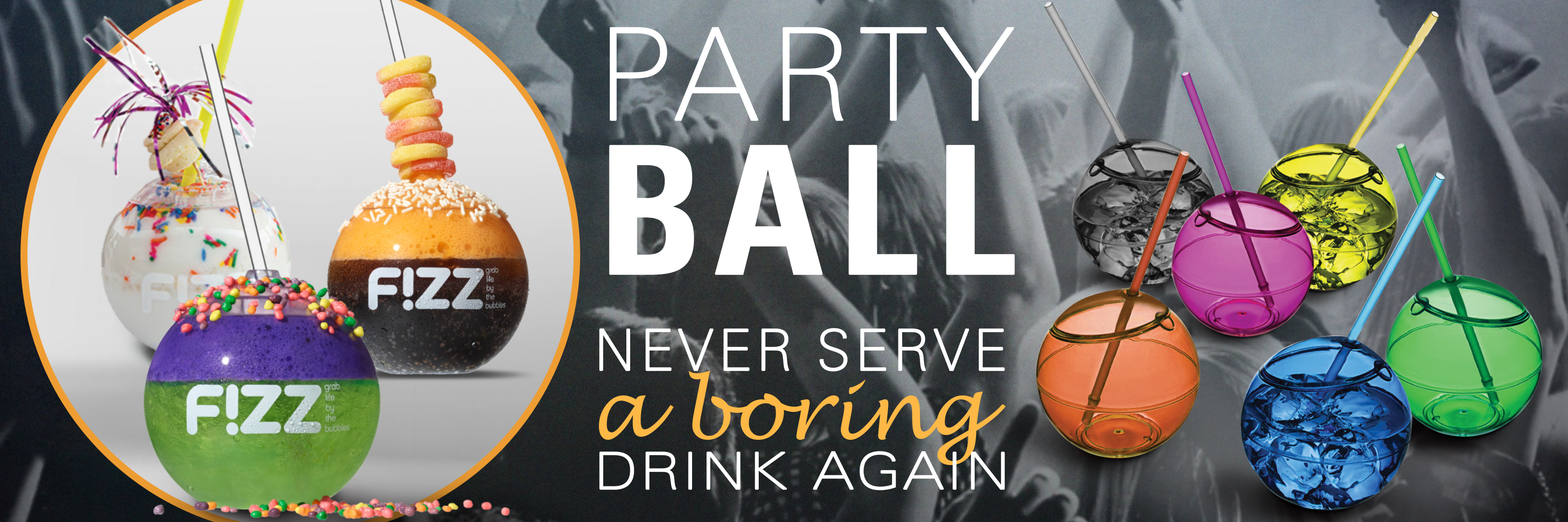 Party Ball Drinking cup for pools