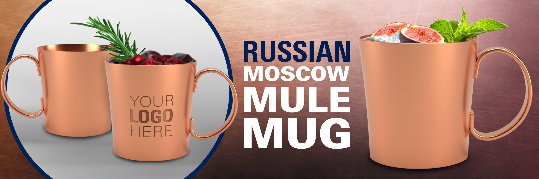 Russian Standard Moscow Mule Mug Banner