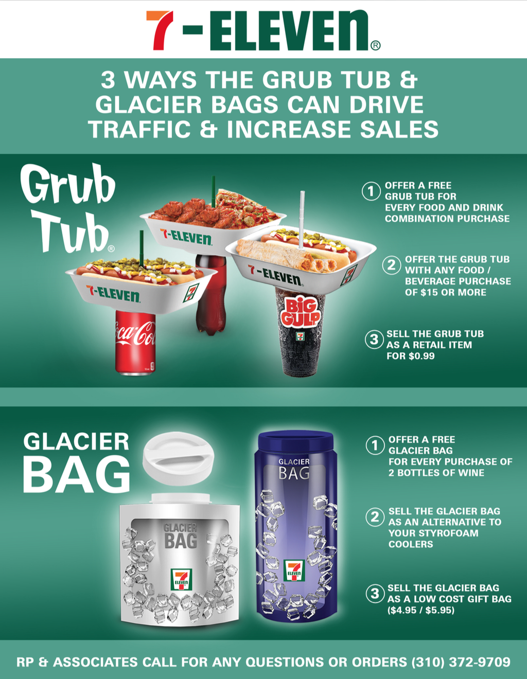 grub tub glacier bag 7-eleven