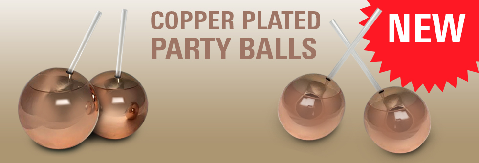 Copper Plated Party Balls