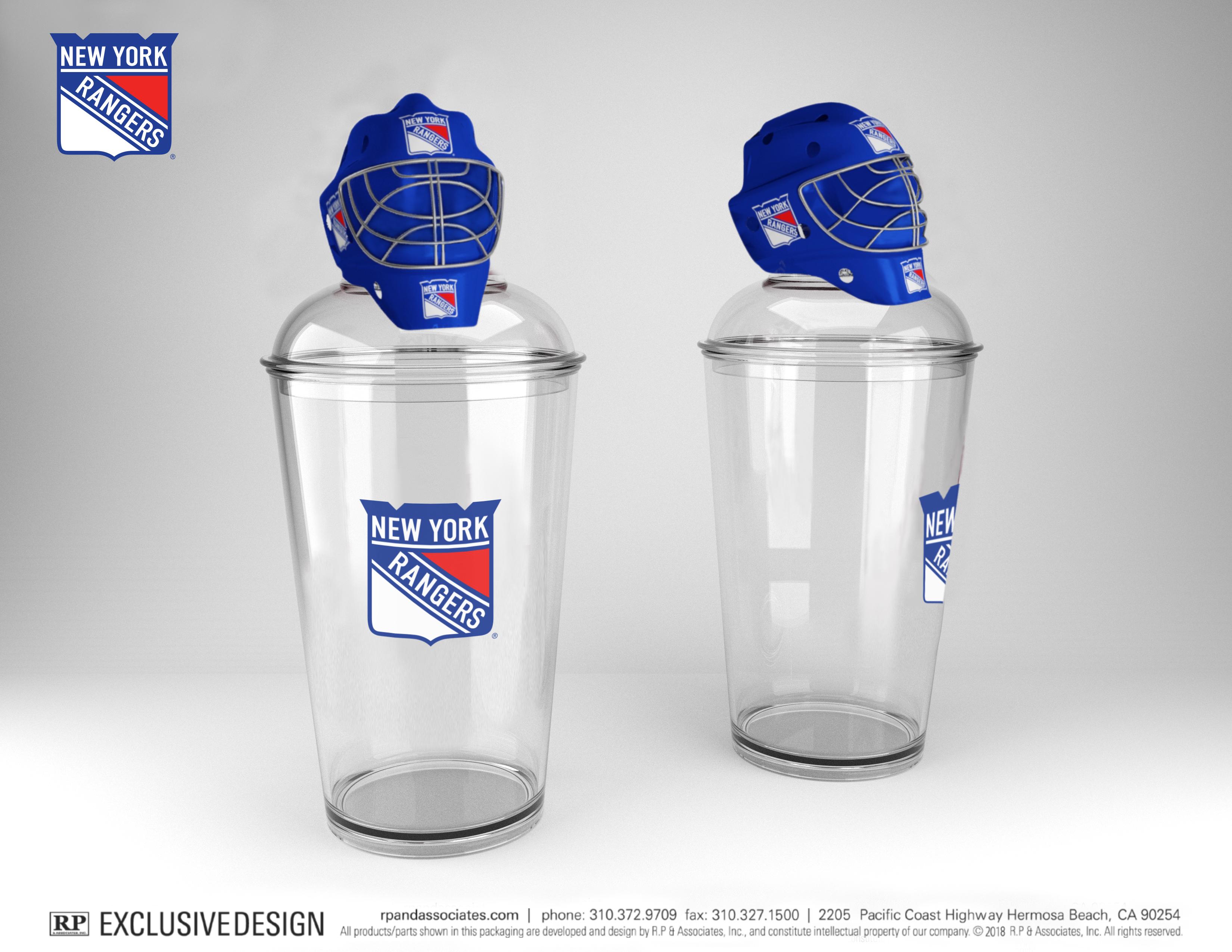 goalie helmet shaker