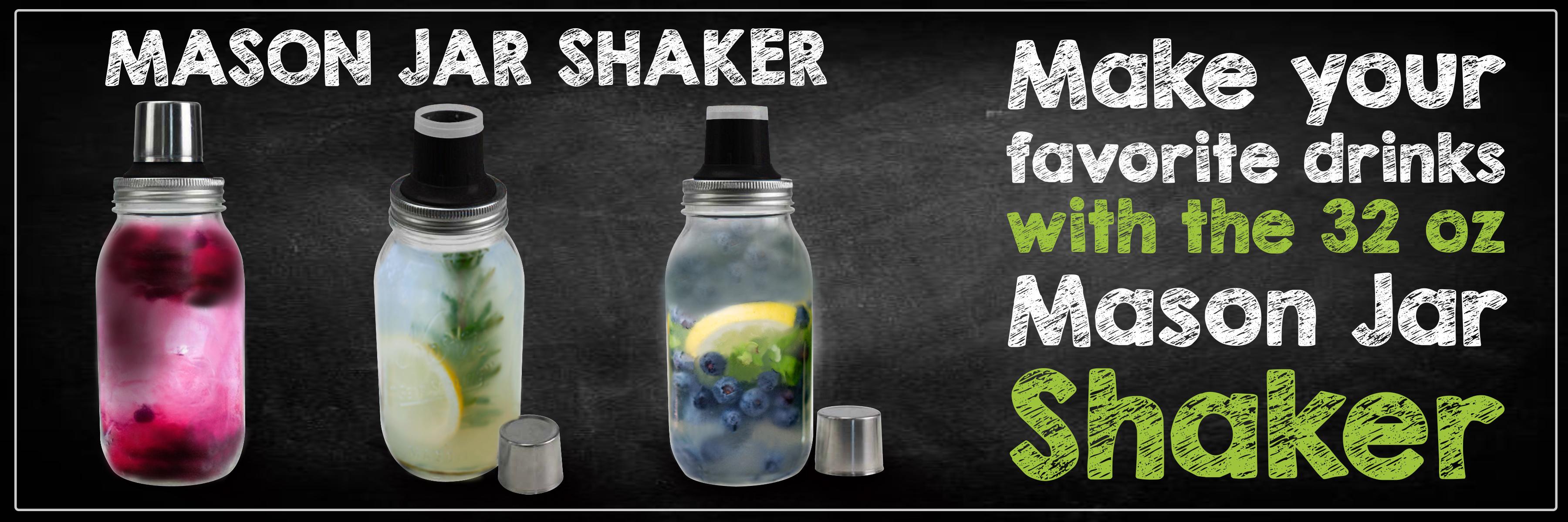 Mason Jar Shakers
