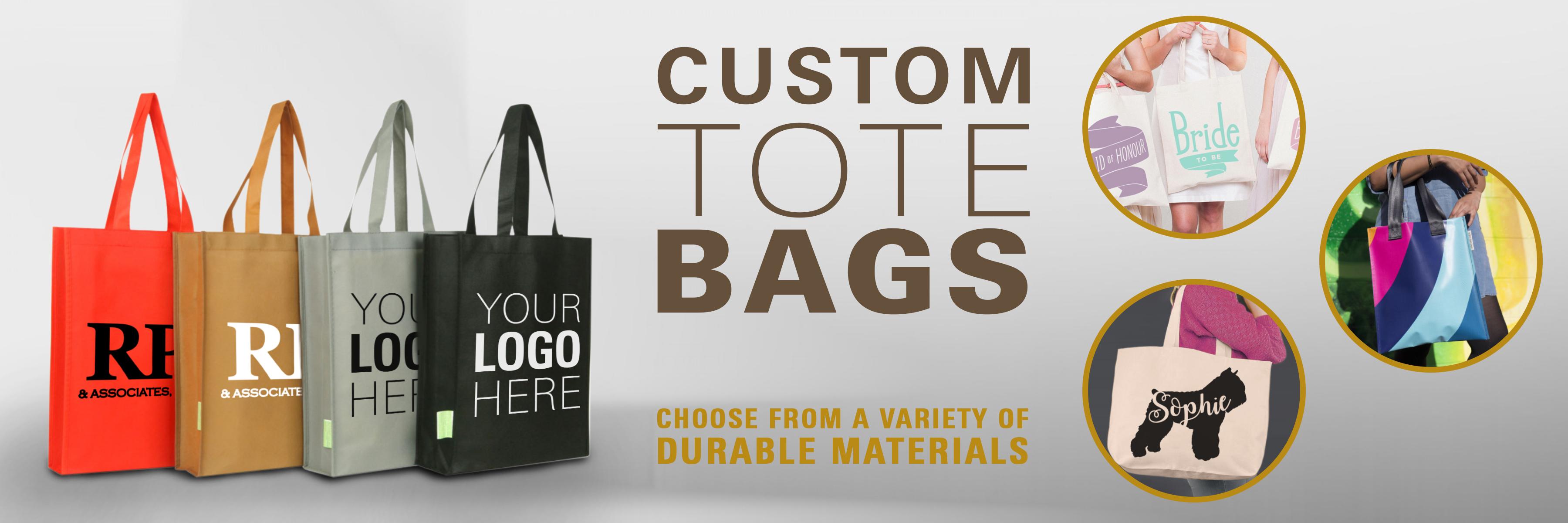 tote bags custom
