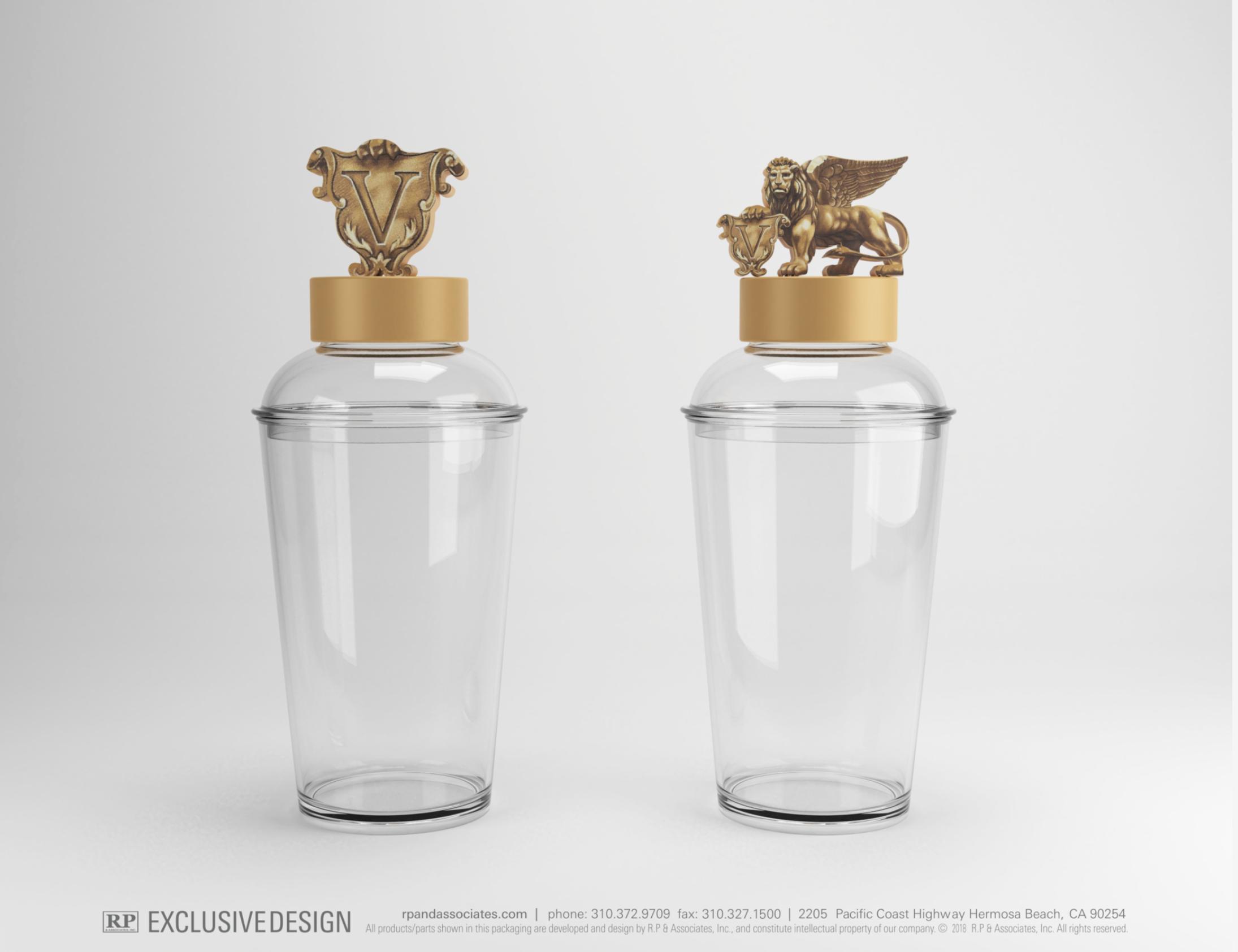 custom shaker top