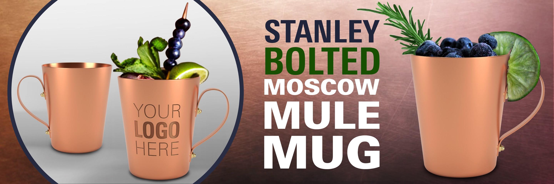 Copper moscow mule mug aluminum