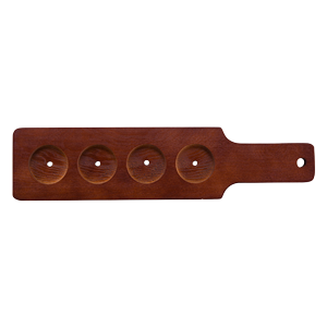 wooden flight tray paddles
