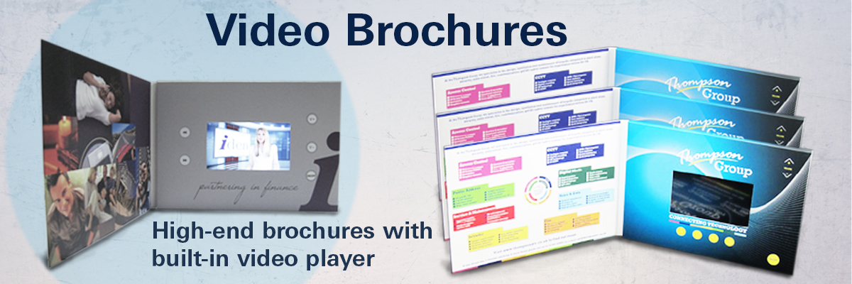 video brochures marketing collateral