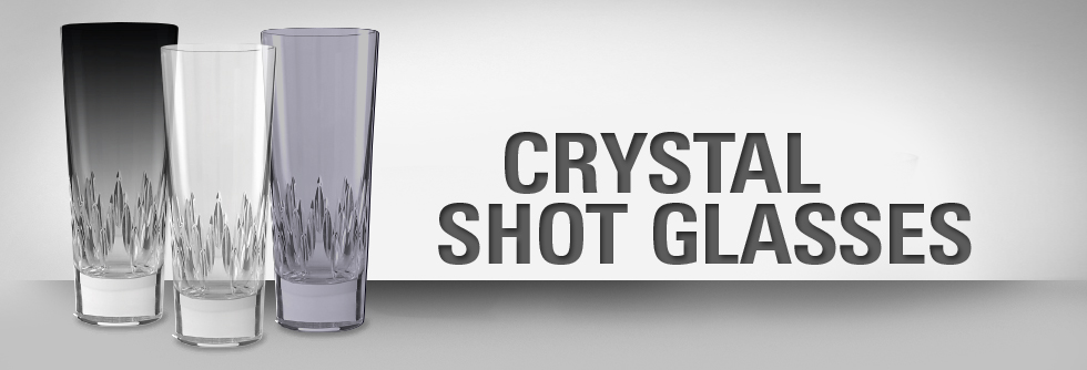 crystal shot glasses
