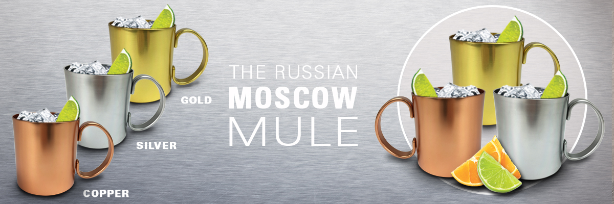 Russian Standard Moscow Mule Mug Banner