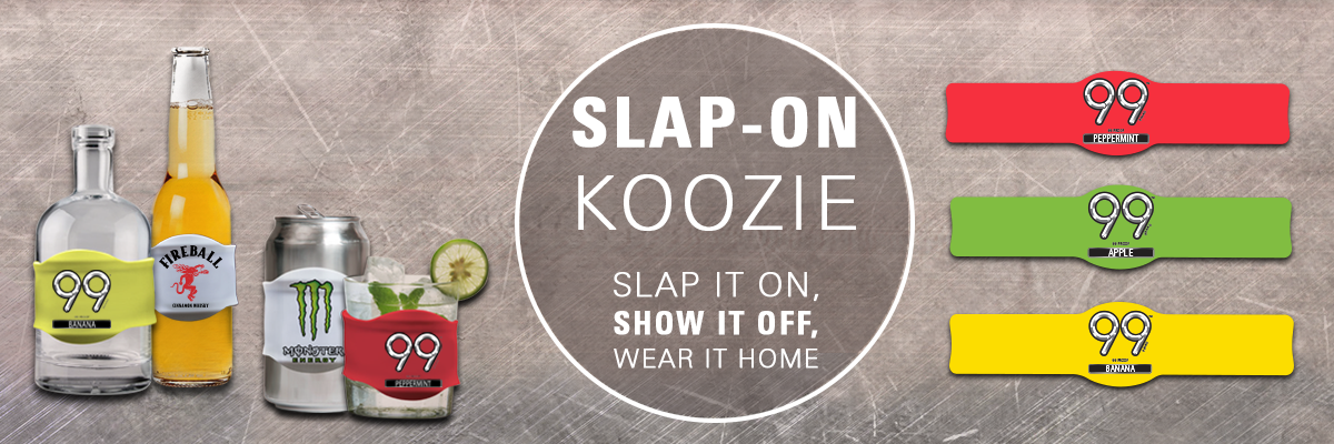 slap-on koozies
