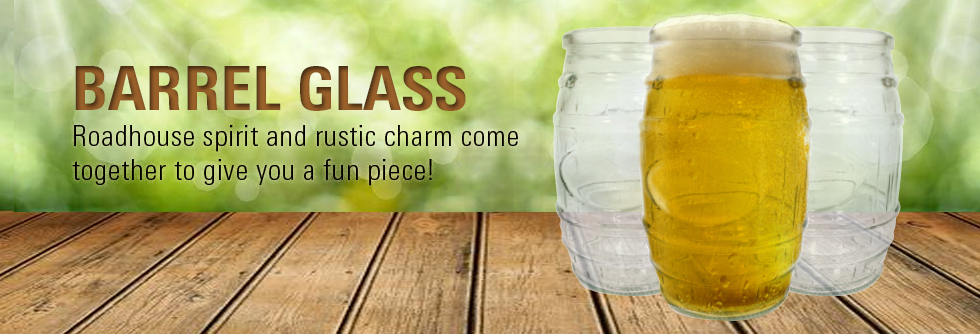 Barrel Glasses