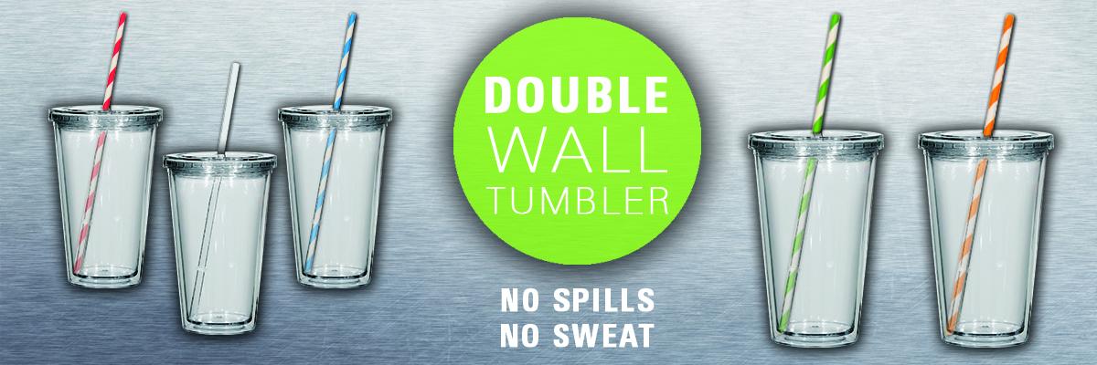 Double Wall Acrylic Tumblers in bulk