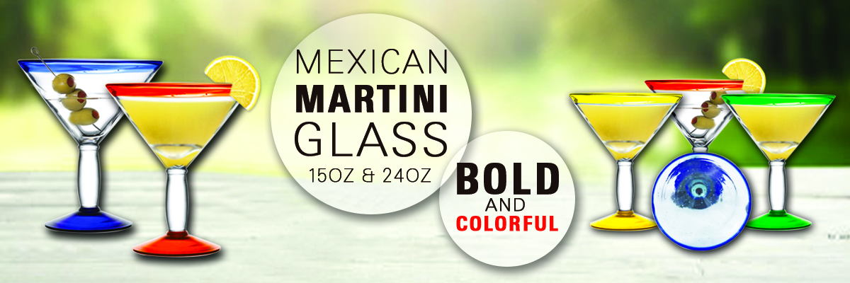 mexican martini glasses