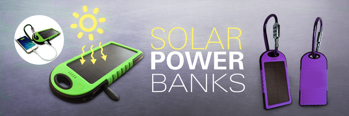 solar power bank and phone charger